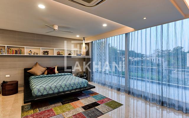 iberwal's residence interior design bedroom